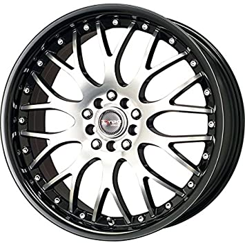 Rims And Tires Canada >> Drag Wheels Dr 19 17x7 5 5x100 5x114 3 Black Lip Machined Face