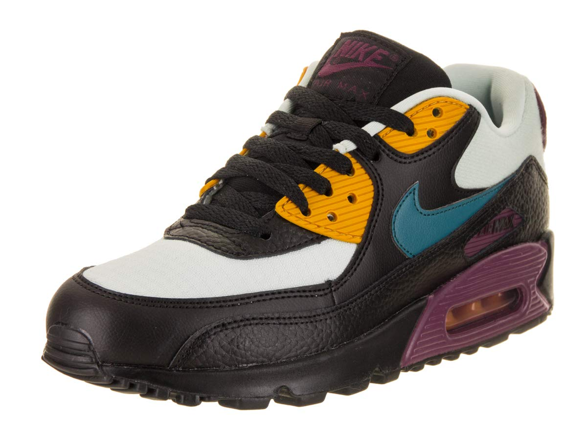 cheap for discount 0b23e eea26 Galleon - Nike Women s Air Max 90 Light Silver Geode Teal Black 325213-058  (Size  5.5)