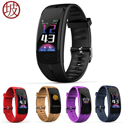 Amazon.com: QS100 Smart bracelet Fitness tracker Color ...