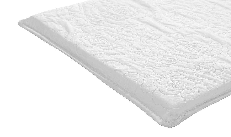 17 x 35 x 2 Big Oshi Waterproof Baby Bassinet//Cradle Mattress White