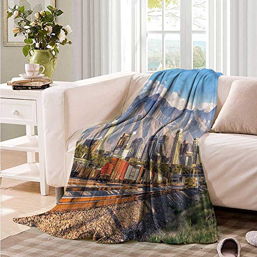 Oncegod Sofa Cushion Landscape Salt Lake City Utah USA Super Soft Cozy 84