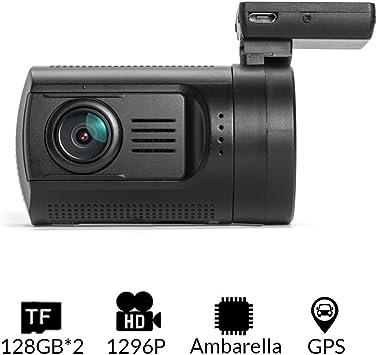 Dash camera mini 0806 Ambarella  A7 1296P 256GB Car Hardwired Kit CPL Filter