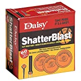 Daisy Outdoor Products 990873-406 Shatterblast Targets, 60 Count, Orange, 2-Inch