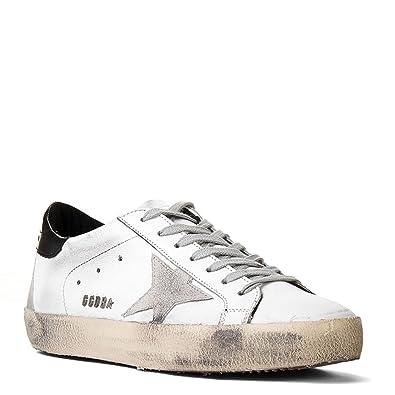b00aef49c8f7f Amazon.com | Golden Goose Men's Superstar Sneaker GCOMS590.W55 White ...