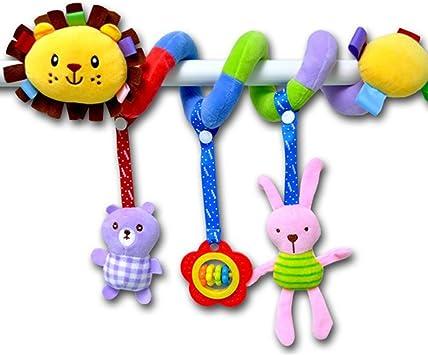 OuYou Colgar Juguetes para Beb/é Infantil Beb/é de Juguetes Colgantes Actividad Espiral Cama Cochecito Juguete Peluche Juguete de Educativo Sonajero Toys