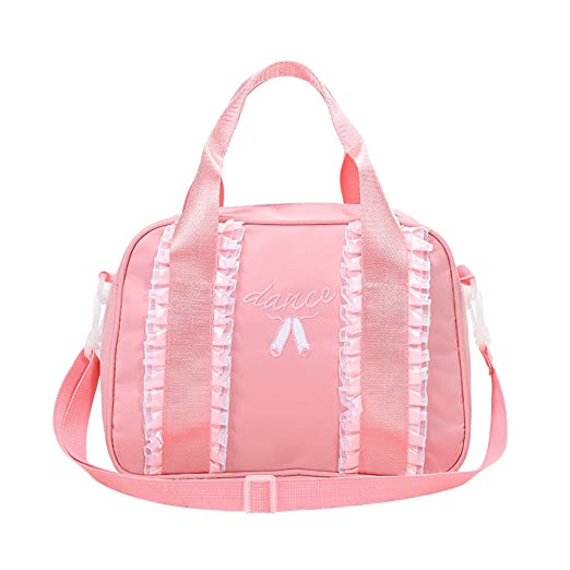 57be0b8642d5 Pueri Girls Dance Bag Handbag Small Gym Duffle Bag Children Portable  Shoulder Messenger Bag