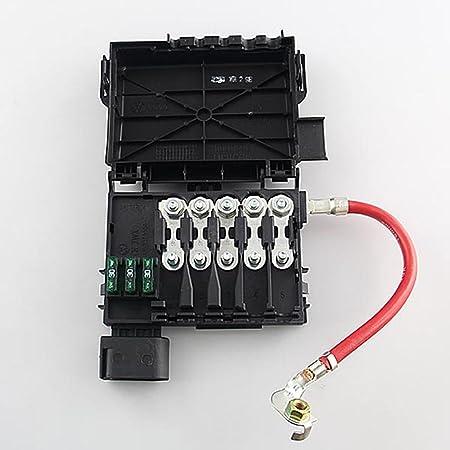 Amazon.com: Fuse Box Battery Terminal Fit For VW Jetta Golf MK4 Beetle 2.0  1.9TDI 1J0937617D: Car Electronics   2003 Jetta Battery Fuse Box      Amazon.com