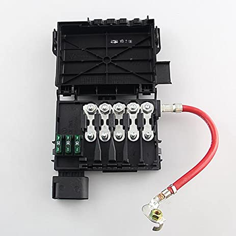 61A9Q%2BftOCL._SY463_ amazon com fuse box battery terminal fit for vw jetta golf mk4 2004 vw jetta fuse box on top of battery at gsmx.co