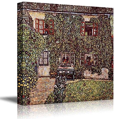 Forsthaus in Weissenbach II 1914 by Gustav Klimt Austrian Symbolist Painter