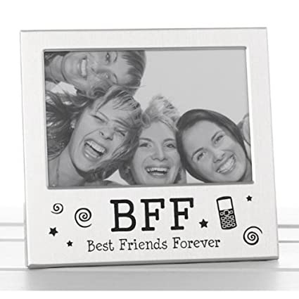 Amazon.com - Best Friends Forever BFF Photo Picture Frame Satin ...