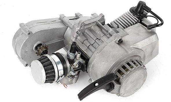 2 Takt Motor Dirtbike 49cc Cross Pocketbike Kinderquad Motorrad Vergaser Luftgekühlt Mini Atv Getriebe Vergaser Satz Auto