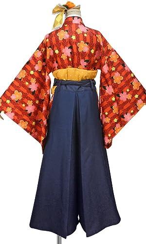 Love Live Hanayo Koizumi Cosplay Costume with Hat Taisho Kimono Custom Size