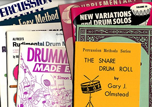 Nine Snare Drum Method Books: See Images for Titles