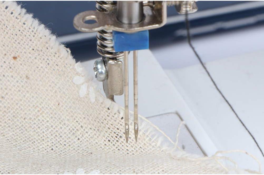 Supvox Twin Machine 12 unidades, 2 mm, 3 mm, 4 mm Juego de agujas para m/áquina de coser