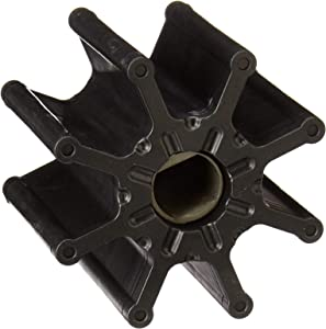 REPLACEMENTKITS.COM - Sea Water Pump Impeller Fits Mercruiser Bravo Replace 47-862232A2 47-8M0104229 - Black