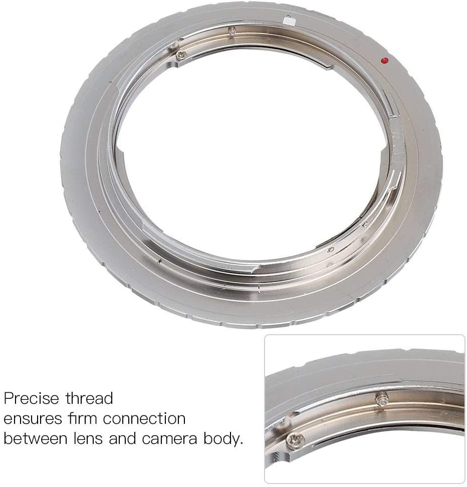 EBTOOLS Manual Focus Camera Lens Adapter,Lens Adapter Ring for YC CY CO//Y Lens to Fit for Canon EOS EF Mirrorless Camera
