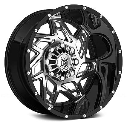 Dropstars 652BV 20x10 8x165.1-25mm PVD//Black Wheel Rim