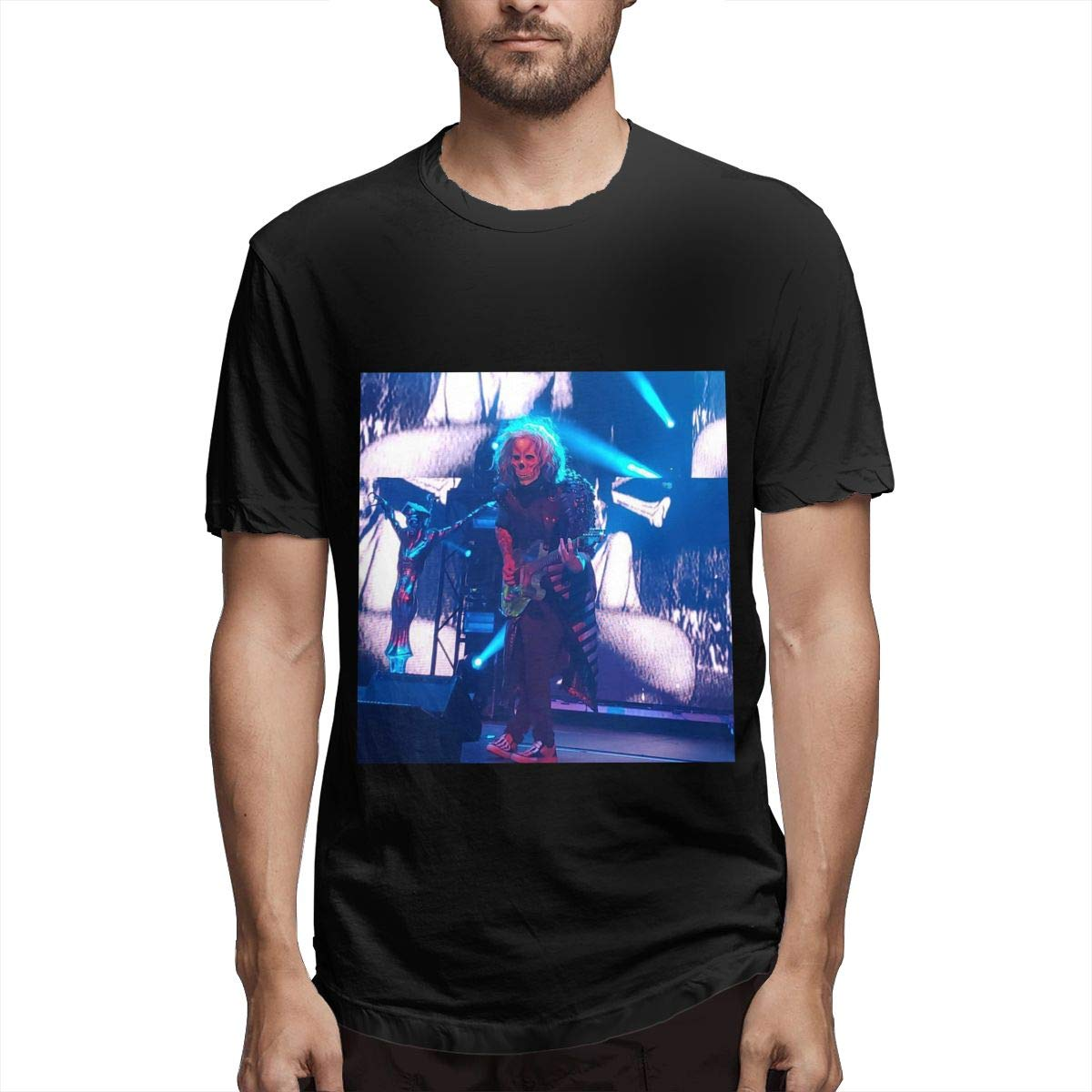 Lihehen Mans Rob Zombie Simple Casual Round Neck Ts Shirts