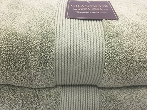 Grandeur Luxury Bath Towel, Hygro Cotton Loops, Wasabi Green