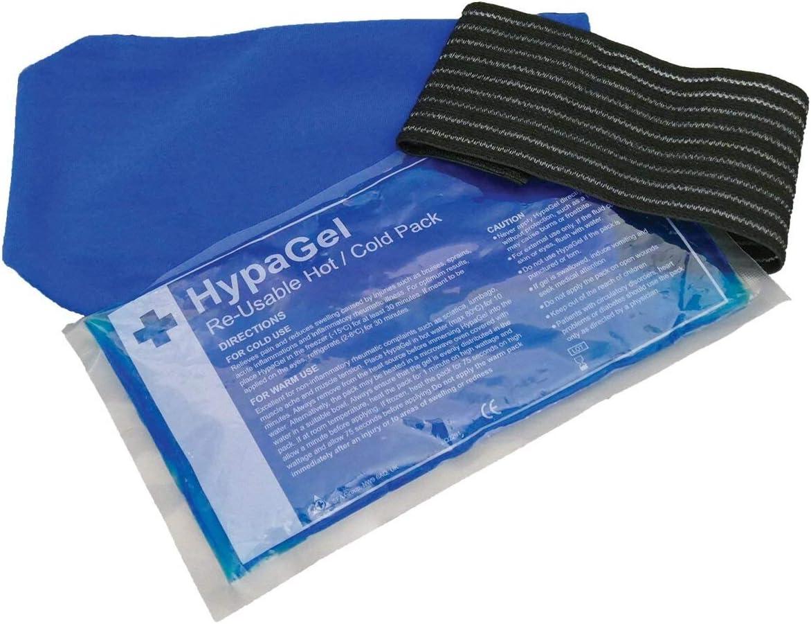 Paquete de terapia HypaGel con compresas de gel frío y caliente y ...