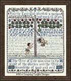 Before the Fall - Adam & Eve Cross Stitch Chart and Free Embellishment