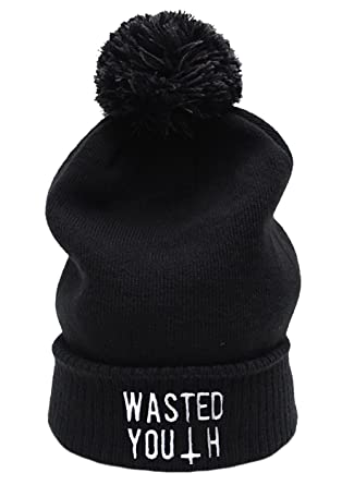 Wasted Youth Beanie (Black) 75bc176adfc