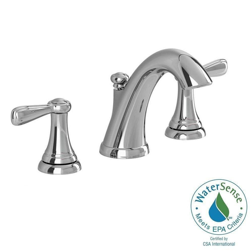 American Standard Marquette 8 in. Widespread 2-Handle High-Arc Bathroom Faucet in Polished Chrome