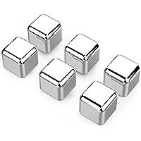 Cubos de hielo de acero inoxidable