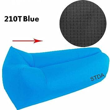 Stda inflable sofá tumbona silla de compresión saco de dormir, camas de aire, portátil