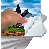 Papel Fotografico Adesivo A4 135g - 20 Folhas