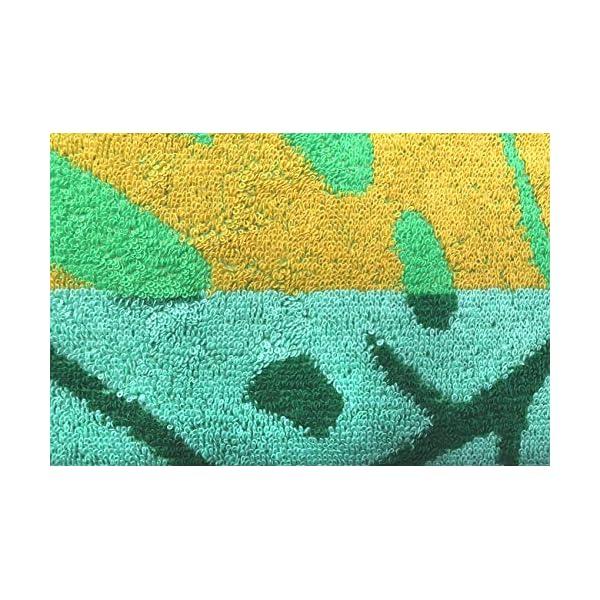 jilda-tex Telo mare 90 x 180 cm, asciugamano da spiaggia, asciugamano 100% cotone biologico, velour, spugna, GOTS… 5 spesavip