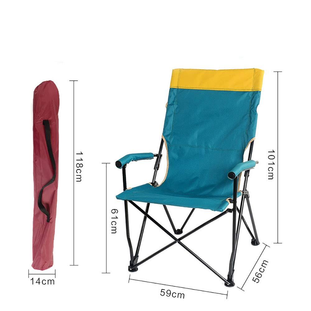 LEEPY Silla Plegable portátil para Acampar, Sillas Plegables ...