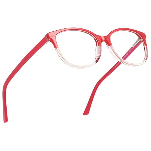 136c1ef4125 Amazon.com  Magic Jing Blue Light Blocking Computer Game Eyeglasses Anti  Glare UV Protection Cat Eye Women Glasses  Clothing