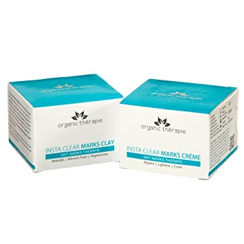 Amazon.com: Organic therapie Claro Marca Combo (Insta Claro ...