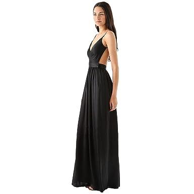 VOWSVOWS Damen sexy Kleider rückenfrei Freizeitkleid Cocktailkleid ...