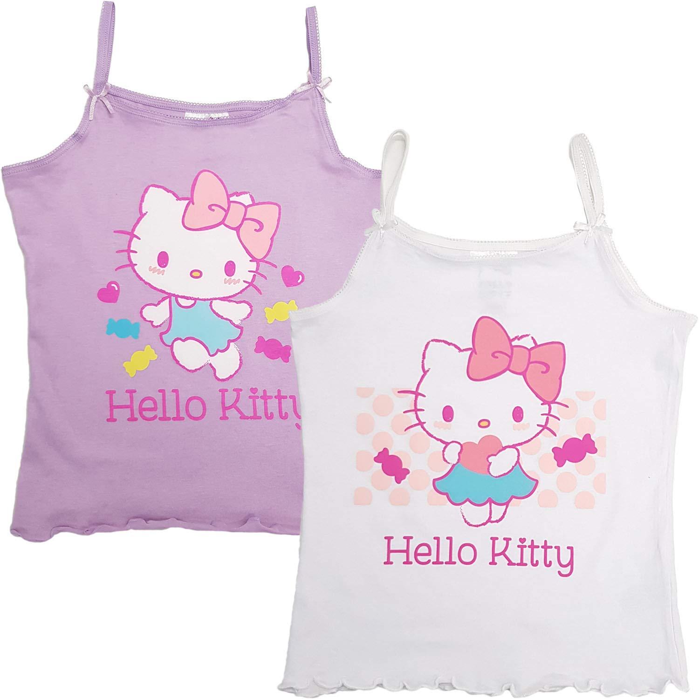 6-TLG M/ädchen Unterw/äsche-Set Hello Kitty