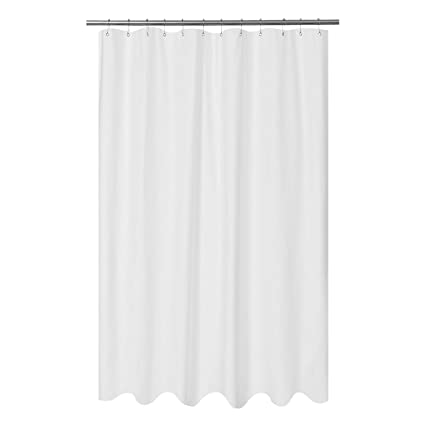 Image Unavailable Not Available For Color Mrs Awesome Embossed Microfiber Fabric Extra Long Shower Curtain Liner 84