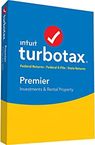 2016 Intuit Turbotax Premier 2016 [OLD VERSION] Federal andState Fed Efile PC/MAC Disc- Old Version For 2016 Taxes Only