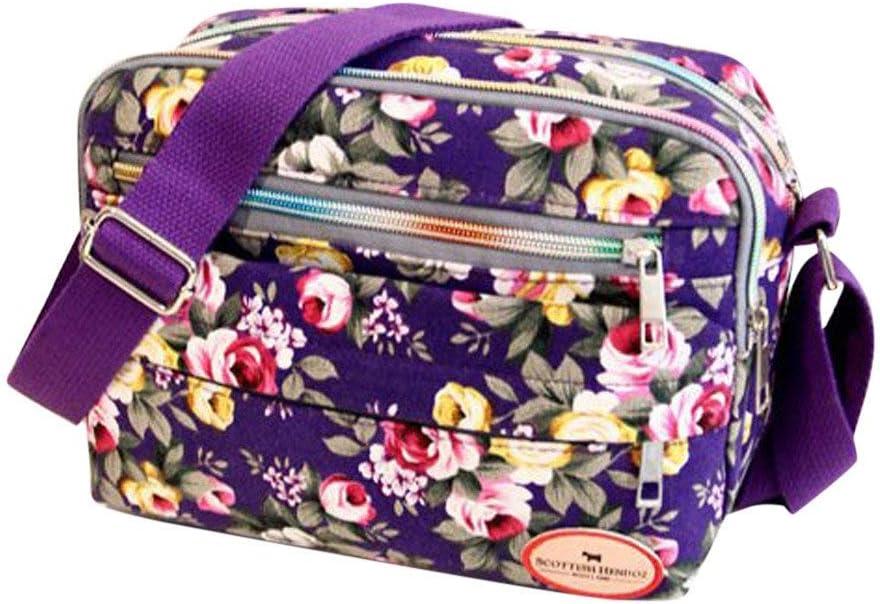 Boho black shoulder bag, Bohemian Canvas Bucket Bag | Borla
