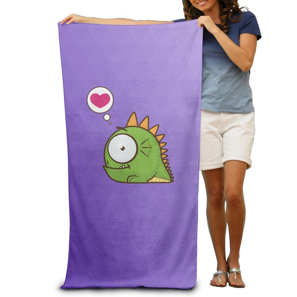 GHEDPO Baby Dragon With A Love Microfiber Towel