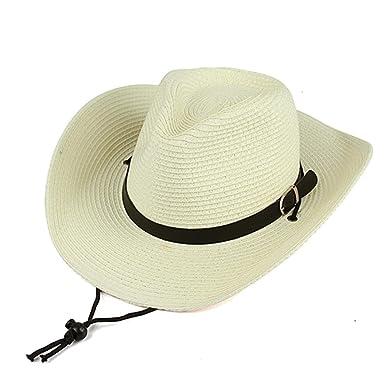 913a225a94d1da NOVAWO Unisex Western Cowboys Straw Hat Foldable Sun Hawaii Beach Bid Brim  Summer Hat
