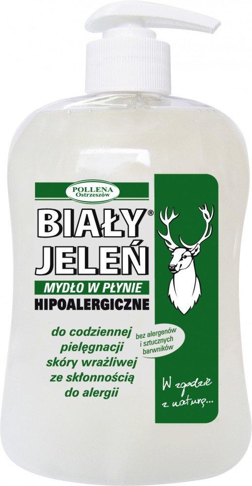 BIALY JELEN - Hypoallergenic liquid soap with pump - 500ml