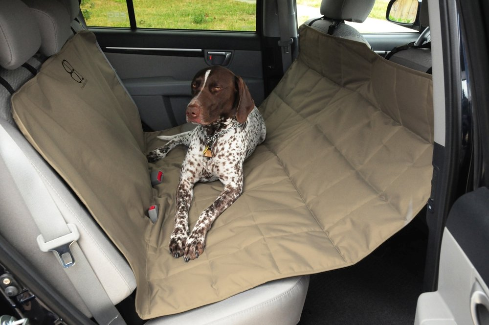 Medium image of amazon     petego dog car seat protector hammock tan x large   automotive pet seat covers   pet supplies