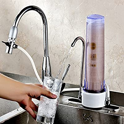Ceramic Desktop Water Filter Purifier Faucet Tap Water Filter