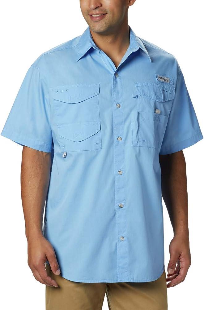 Columbia Bonehead - Camiseta de Manga Corta para Hombre, Hombre, FM7130-450-XS, Azul, XS: Amazon.es: Deportes y aire libre