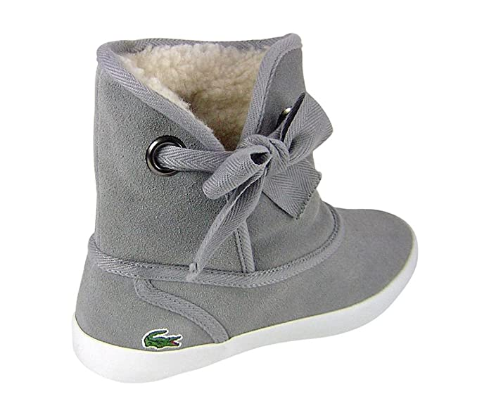 fe635c429d79 Lacoste Women s Caliope SPL Grey Boots Grey Grey  Amazon.co.uk  Shoes   Bags