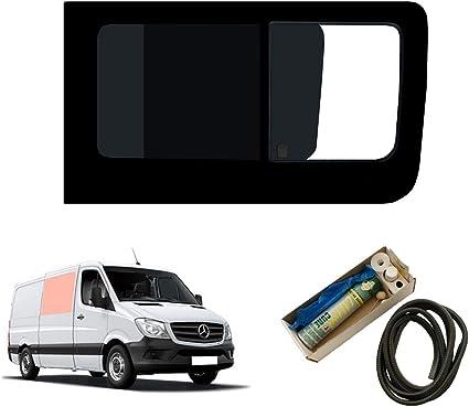 Mano derecha, tintado oscuro apertura ventana para Panel lateral OPP. Puerta Corredera Kit Mercedes Sprinter (2006 on): Amazon.es: Coche y moto