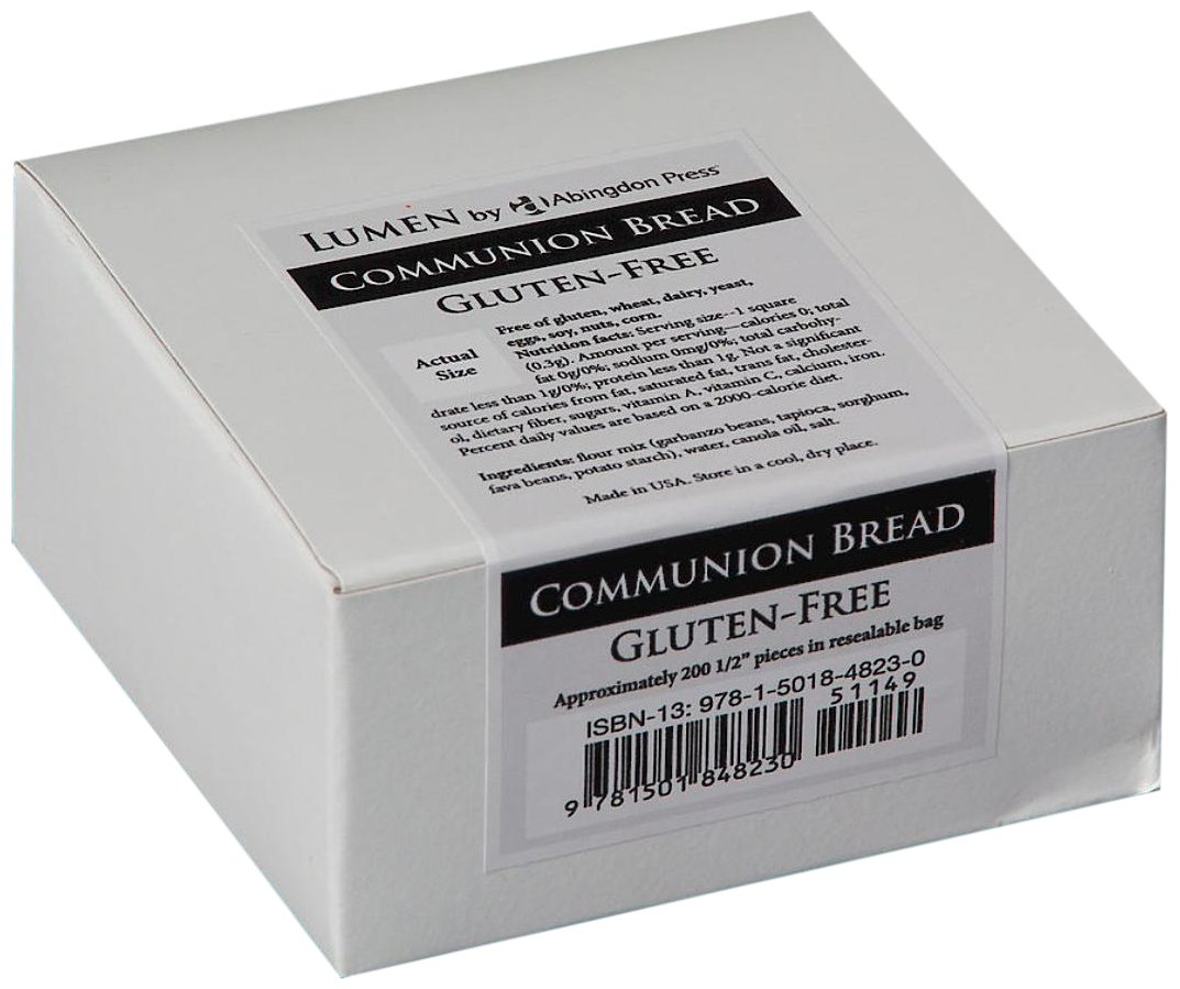 Download Communion Bread, Gluten-Free (Box of 200): Lumen by Abingdon Press pdf epub