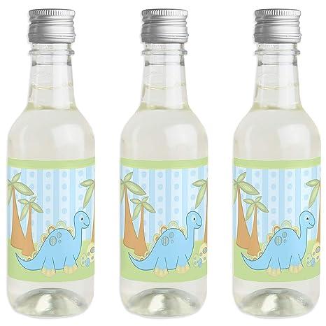 Amazon.com: Baby Boy Dinosaur - Pegatinas para botella de ...