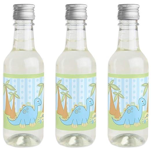 Pegatinas para botella de vino y champán con diseño de dinosaurio ...